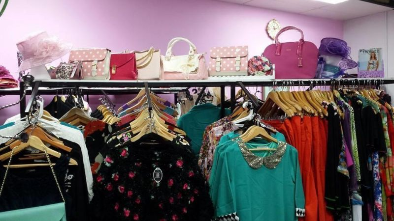 Ladies clothing and accessory business for sale.