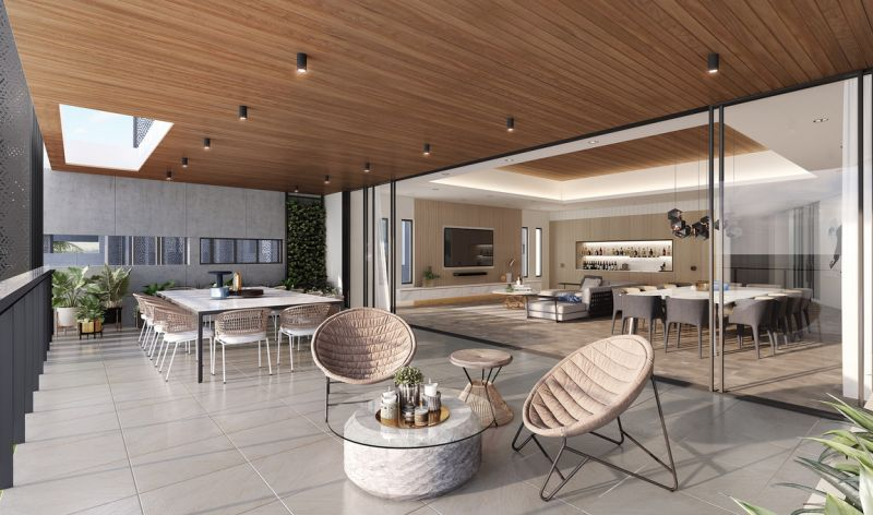 Be the first to experience luxury apartment living on Sovereign Islands