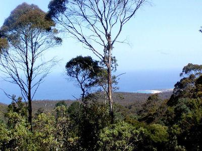 Unique Rainforest Retreat with Ocean Views in Eastern Tasmania