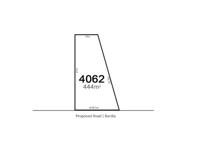 Bardia LOT 4062 Proposed Road | Bardia