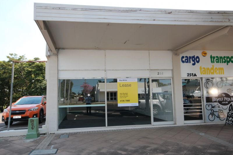 Charters Towers Road Retail Shop $180m2 gross