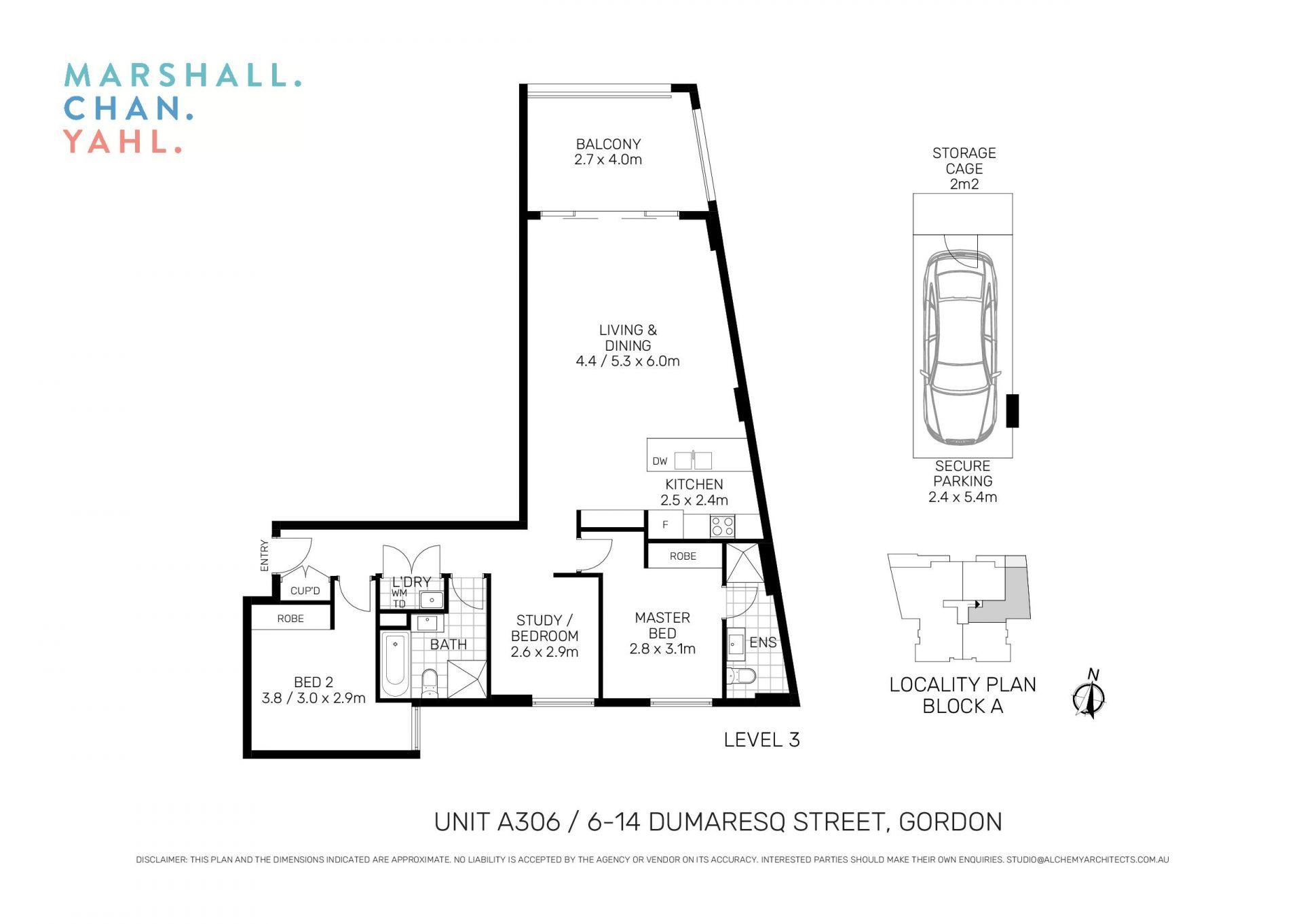A306/6-14 Dumaresq Street Gordon 2072