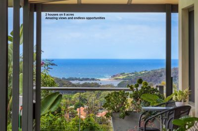 Two homes, ocean views, with endless options