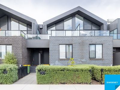 Modern design, funky three-bedroom home