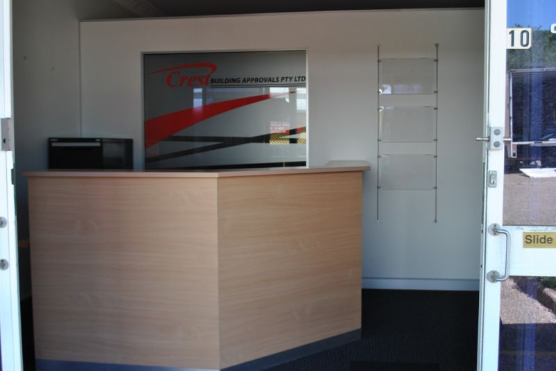 Open Plan professional Office Space - Separate Reception Area