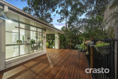 Spacious, Open Plan Living backing onto Natural Bushland
