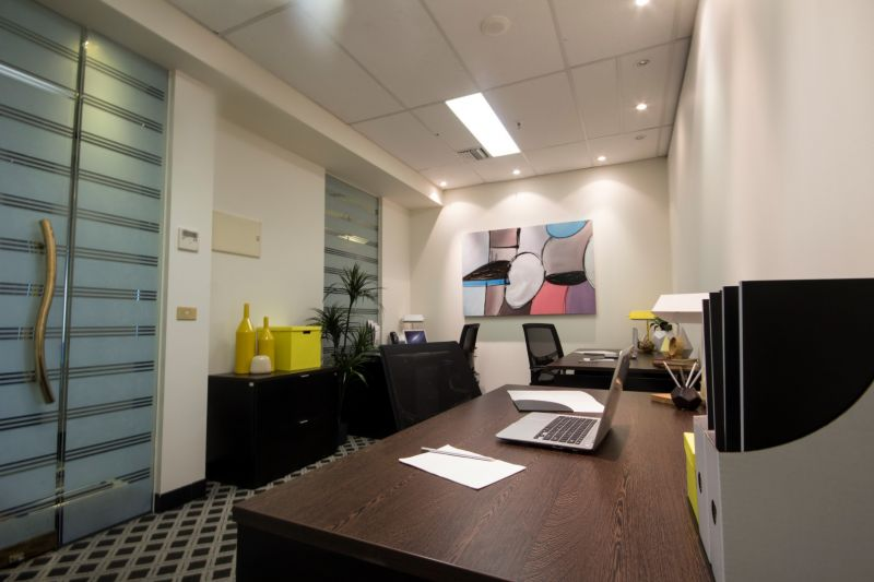 Professional executive office in iconic building