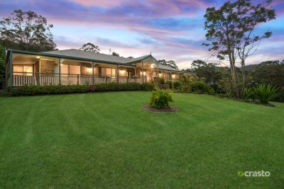 Large 55sqs on 5 ½ Acres with Serene Hinterland Views
