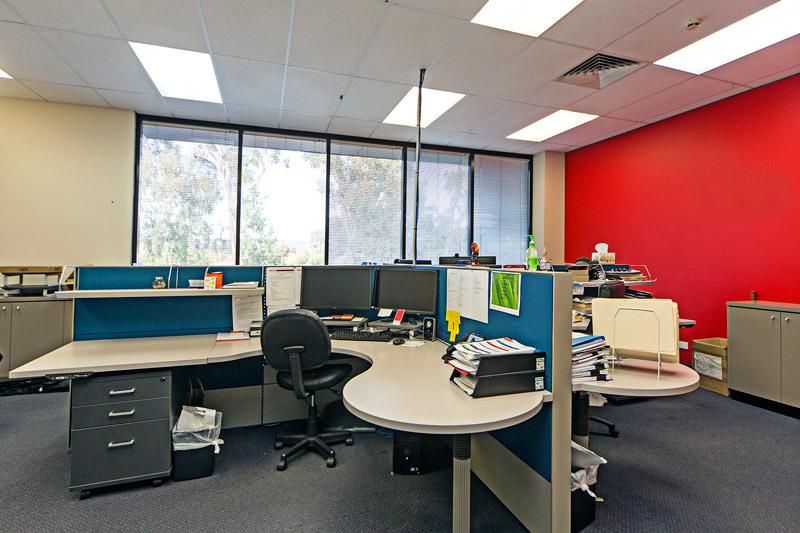 Modern Partitioned Office