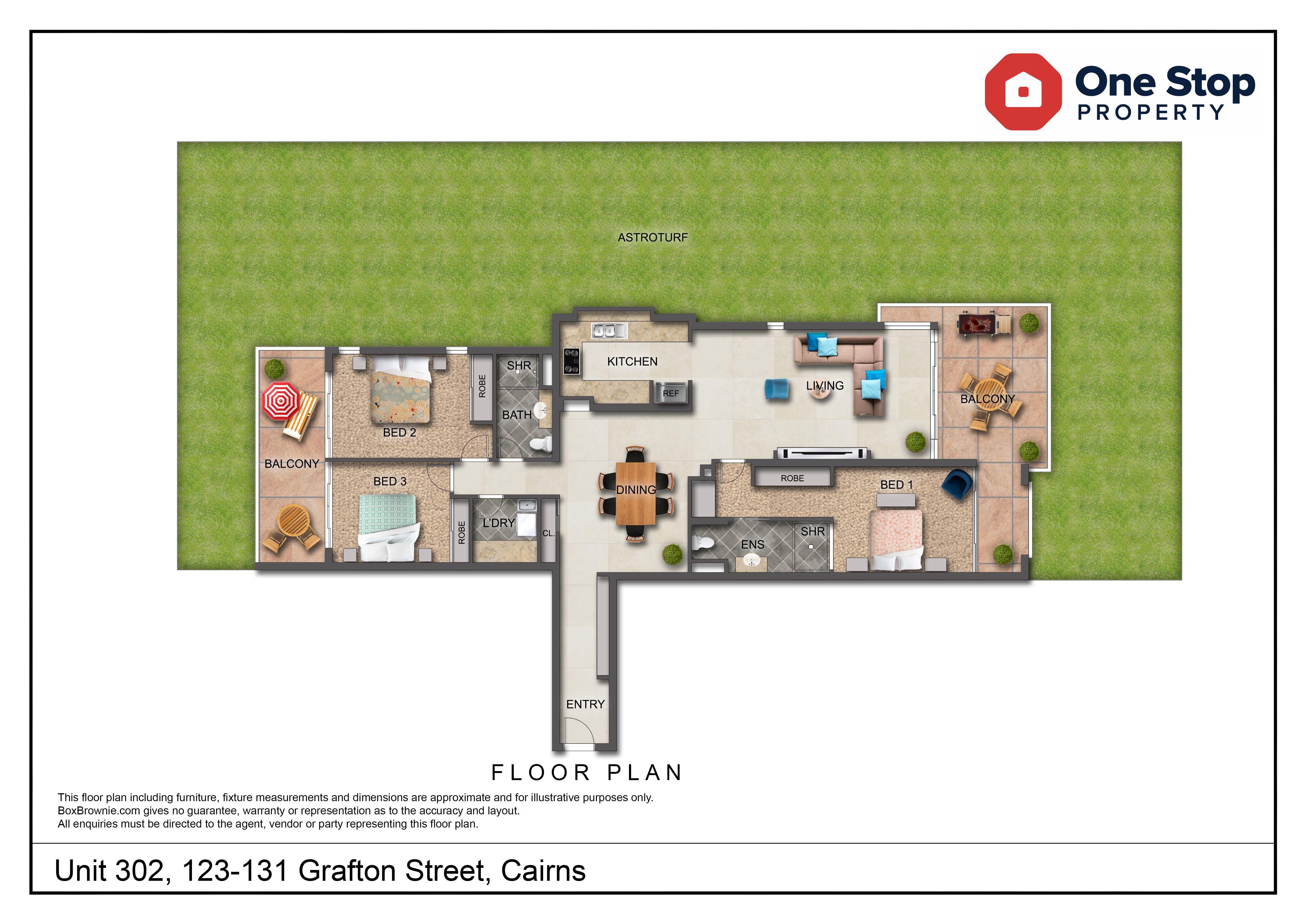 302/123-131 Grafton Street, Cairns City QLD 4870