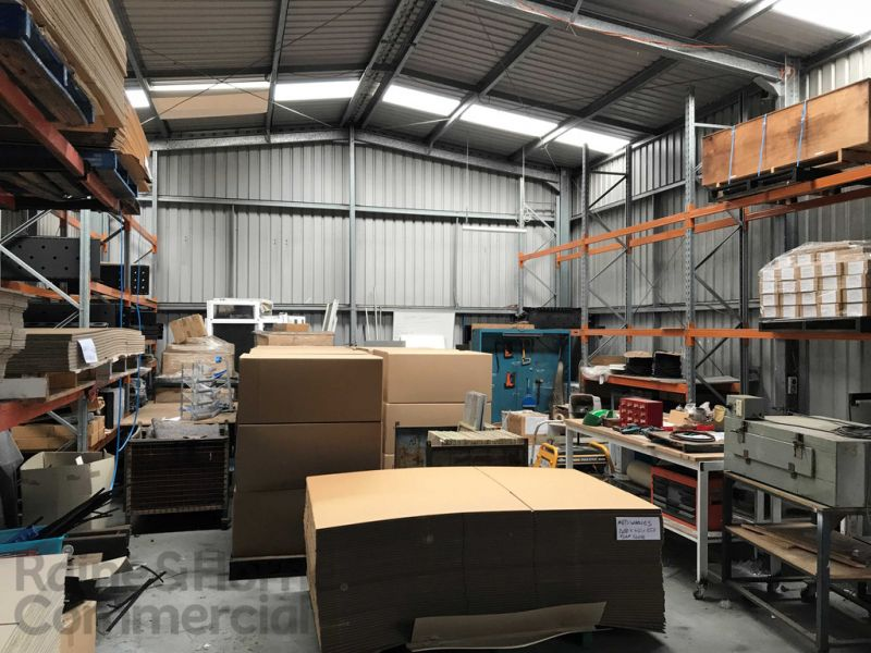 High Clearance Workshop/Storage Unit