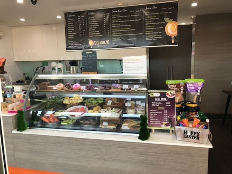 REDUCED TO SELL!! JUICE BAR / DELI STYLE CAFE