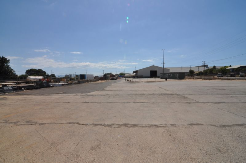 Secured Storage Yard with Full Truck Drive Thru Access