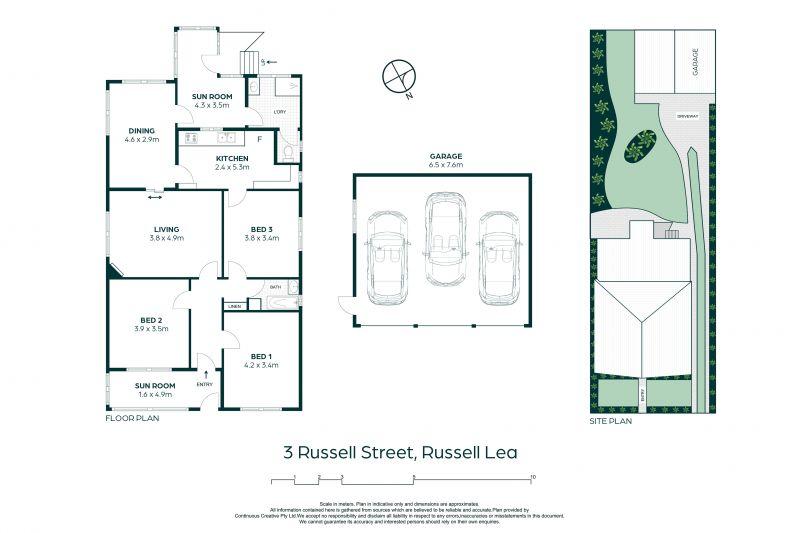 3 Russell Street Russell Lea 2046