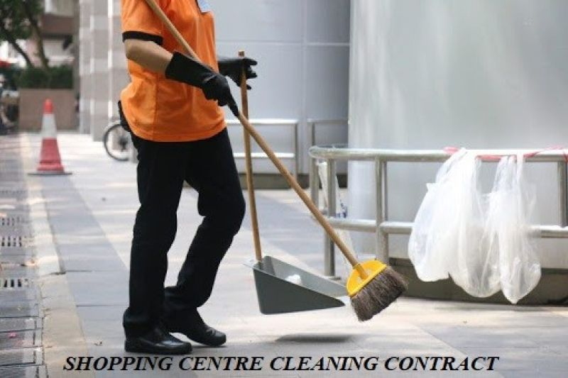 Cleaning Contract For Sale