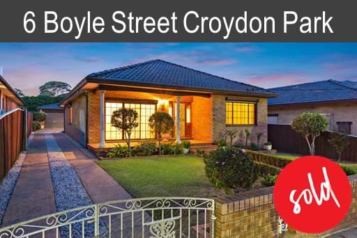 Reg   Boyle St Croydon Park