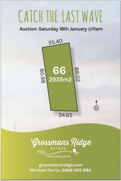 Lot 66-460 Grossmans Road, BELLBRAE