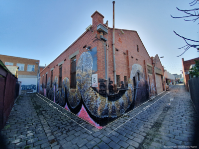 Unrenovated warehouse with loads of potential