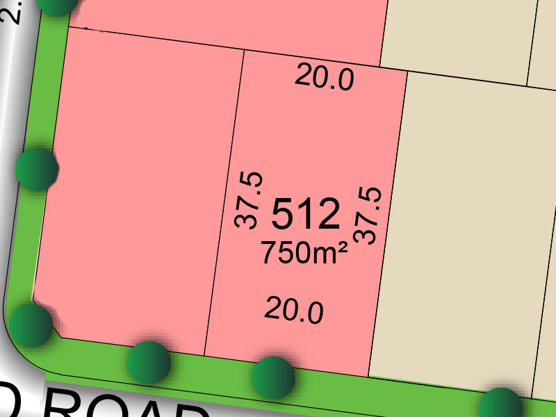 Paxton 512 Proposed Road