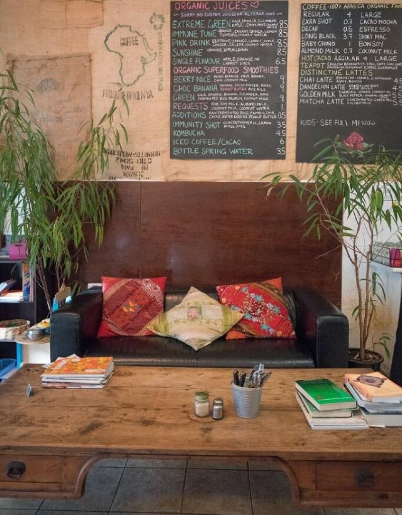 Warm, inviting cafe with a loyal clientele.