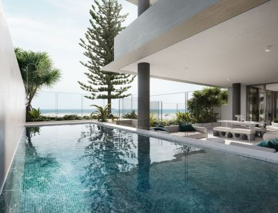 New NORTHEAST Facing Beachfront Apartments in Boutique Residential Building of Only 16