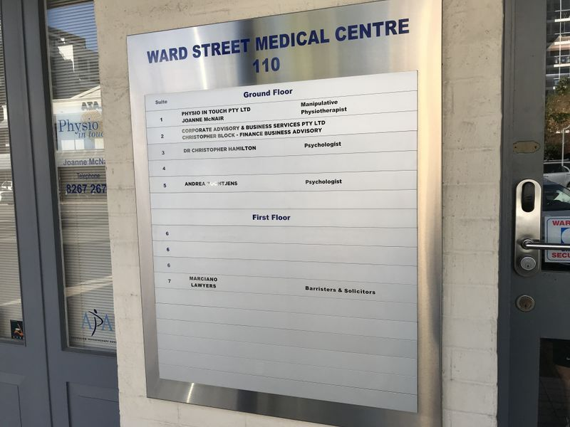 Landlord Says Lease - Medical consulting suite in a medical centre