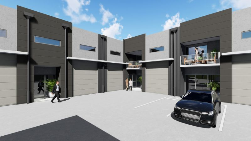 Under Construction - Affordable Industrial Units