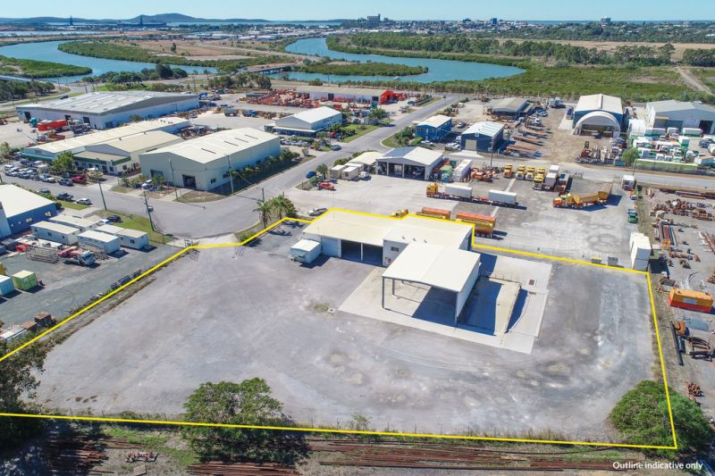 :: 3D TOUR :: 5845 SQUARE METRES OF HARDSTAND WITH 822 SQUARE METRE INDUSTRIAL SHED + OFFICE  [17 IMAGES]