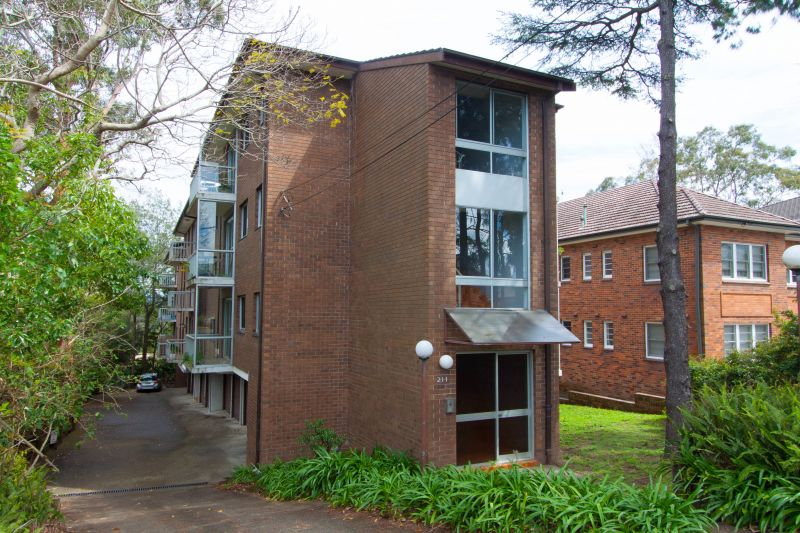 Spacious top floor unit in a private, leafy security block.