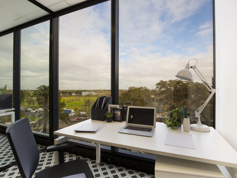 Executive suite with spectacular views at St Kilda Rd Towers
