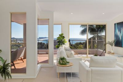 Penthouse with Ocean Vista