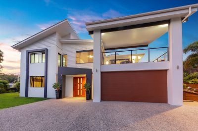 Show-stopping family home