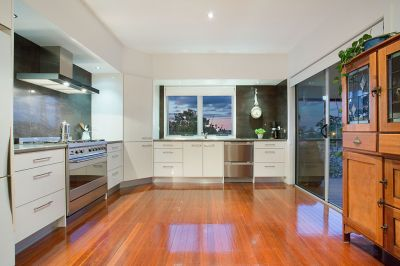 Elevated, private and perfectly renovated