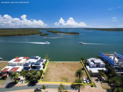 Fabulous North-to-Water Double Block with Direct Broadwater Frontage