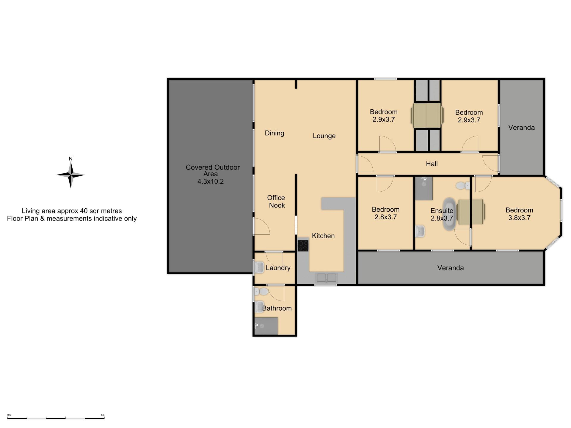 131 McLachlan Street - Floor Plan