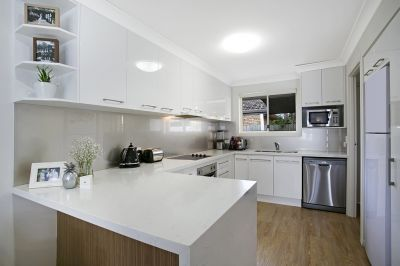 Stylish renovated duplex in outstanding location
