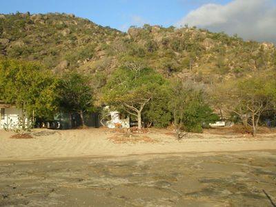 Cape Upstart Fishing Hut.
