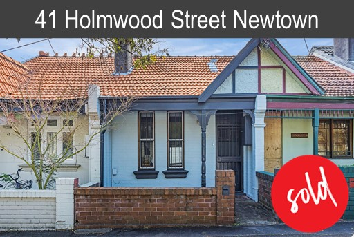 Vendor of 41 Holmwood St Newtown