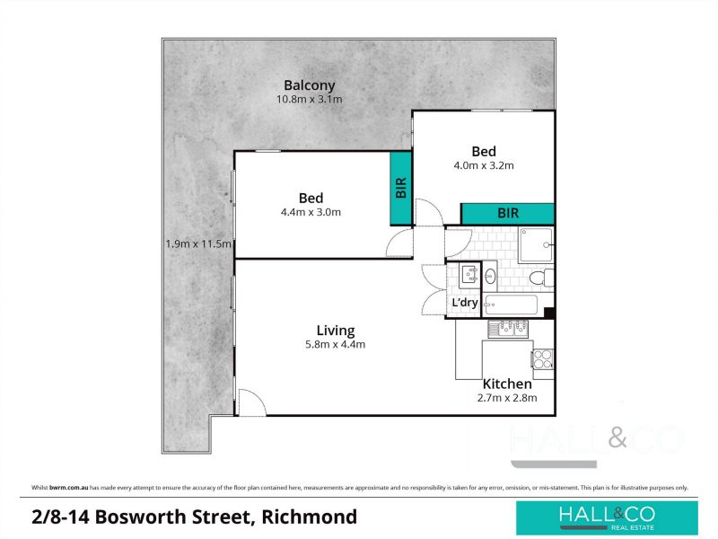 20/8-14 Bosworth St Richmond 2753