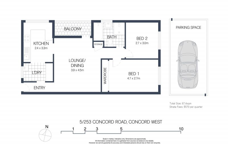 5/253 Concord Road Concord West 2138