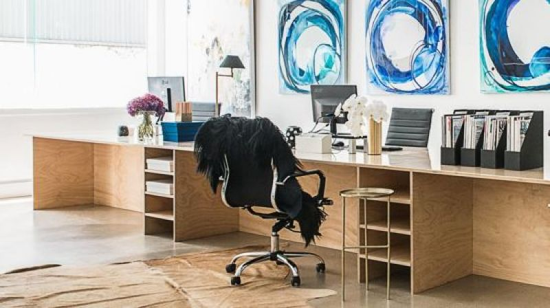 OPEN PLAN DESIGNER OFFICE - IDEAL CREATIVE STUDIO