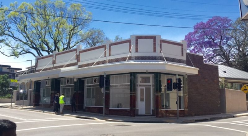 Four Completely Restored Heritage Retail Shops