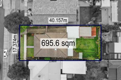 Solid North facing brick home on a premium parcel of land with enormous potential