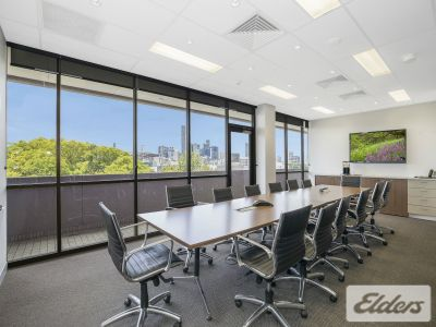 FULLY FITTED TOP FLOOR OFFICE WITH SWEEPING CBD VIEWS!