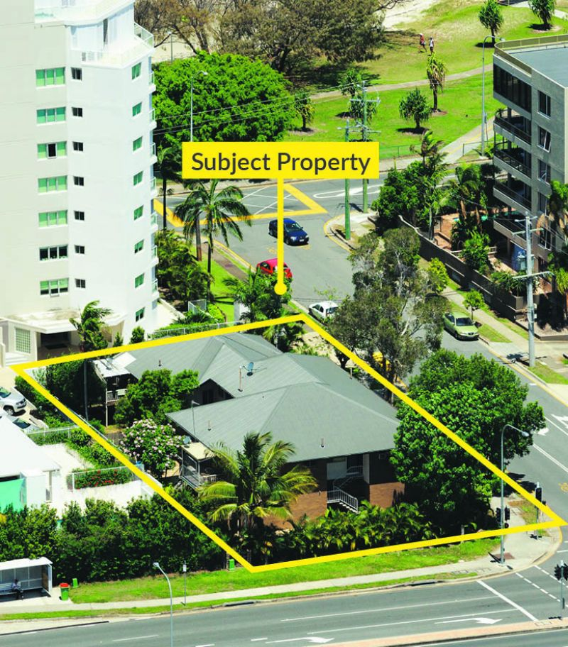DA Approved High Rise Site for 55 Units over 21 Levels