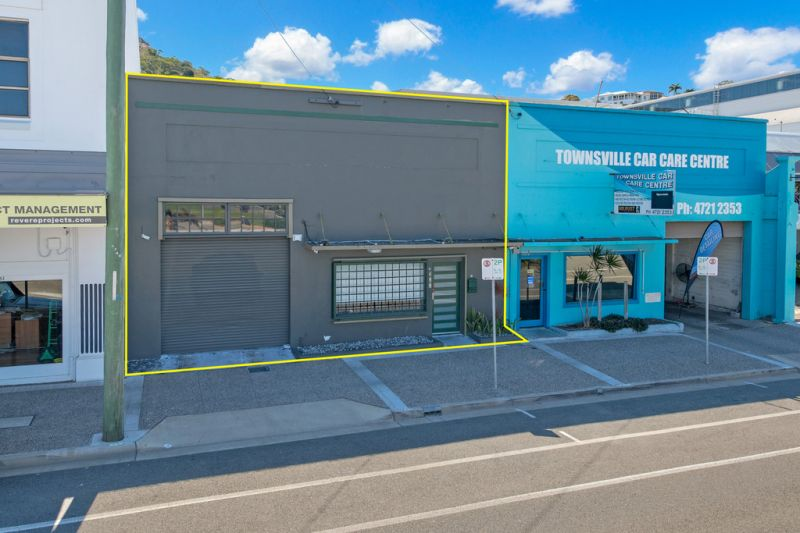 Freestanding CBD offices with on-site parking