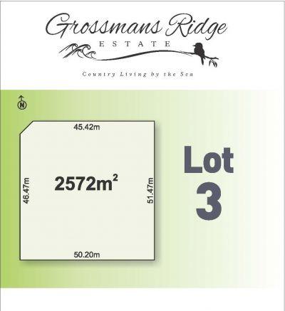 Lot 3/460 Grossmans Road, BELLBRAE