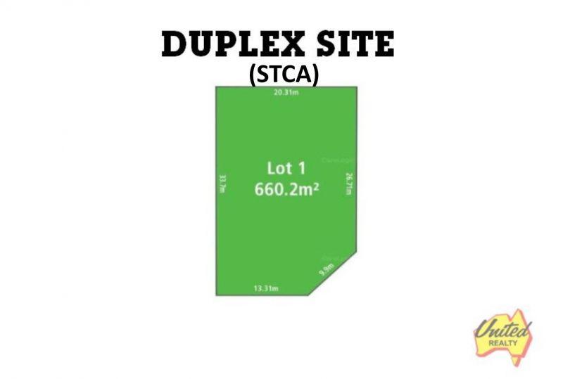 Duplex Site (STCA) - Corner Block Approx. 660.2 Sq.m!