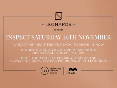 Available November - 2-Bedroom Apartment in St Leonards