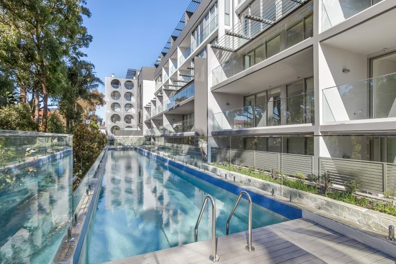 Oversized Studio with Pool View in the Exclusive 88 Kensington